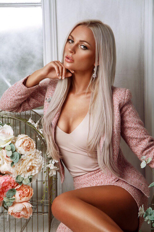 blond Belarusian lady from city Minsk Belarus
